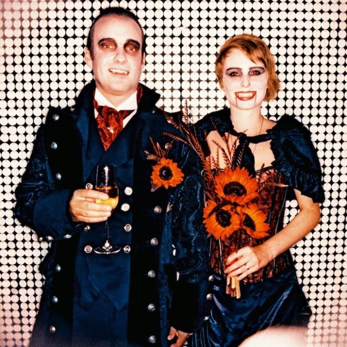 Свадьба в стиле вампиров.