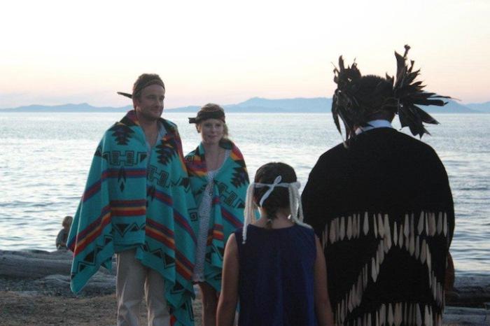 Свадьба в традициях индейских племен.