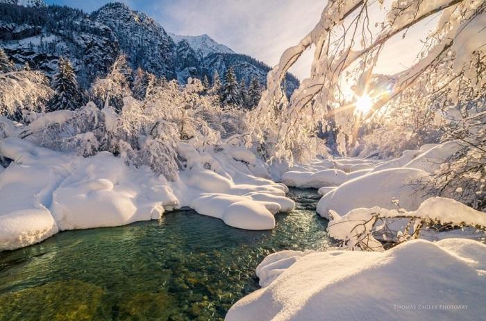Долина в итальянской провинции Больцано. Фотограф Thomas Zagler.