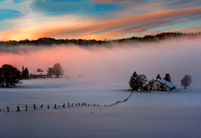 Удивительный закат. Фотограф Izakigur.