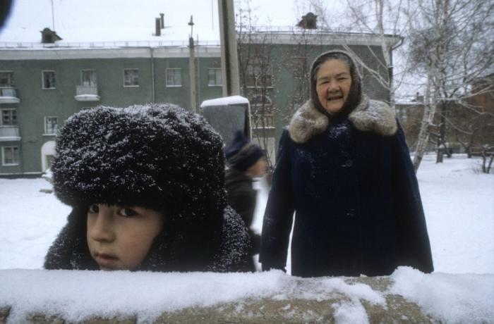 Томительное ожидание. СССР, Моква, 1982 год.