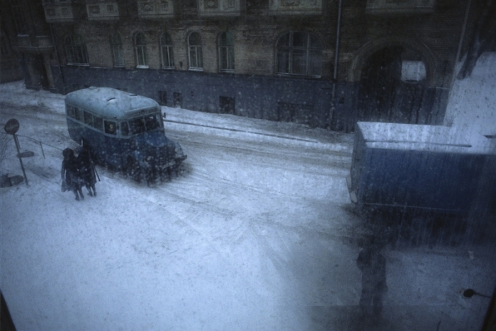 Вид из окна. СССР, Москва, 1982 год.
