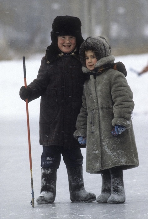 Любимая зимняя забава.