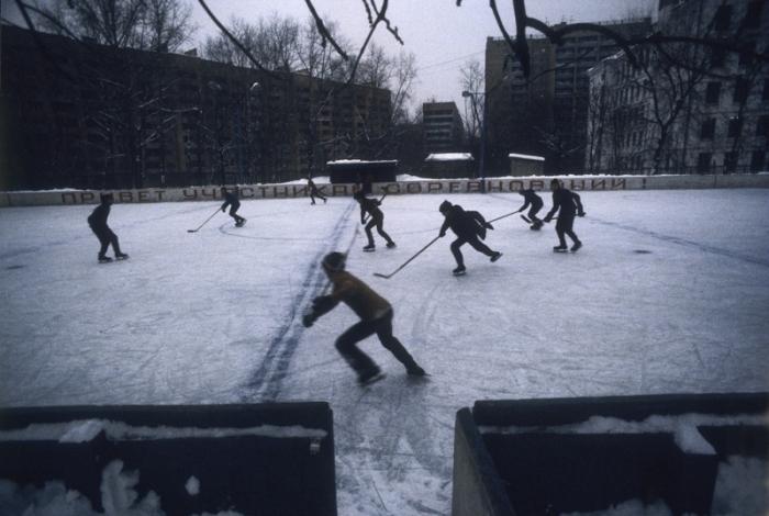 Массовый хоккей в СССР.