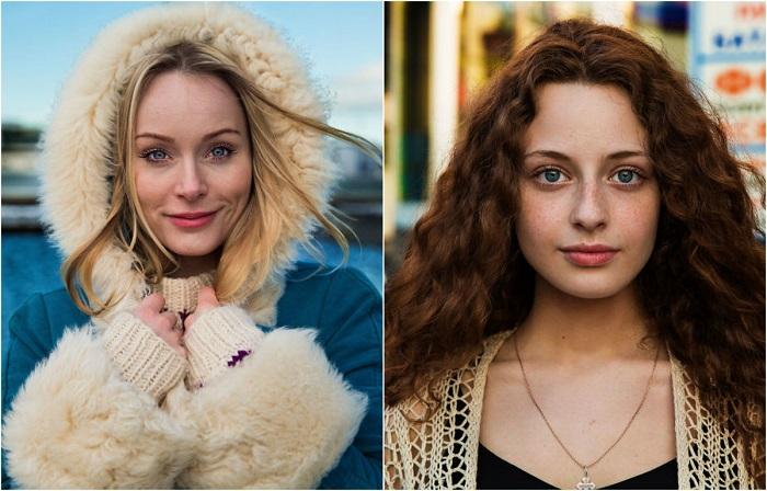 «Атлас красоты»: 20 женских фотопортретов, на которых запечатлены очаровательные девушки из разных стран