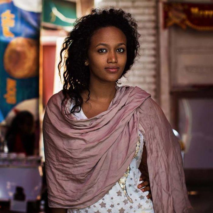 Прелестная мусульманская девушка.