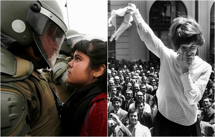 Женщины, принимавшие участие в акциях протеста.