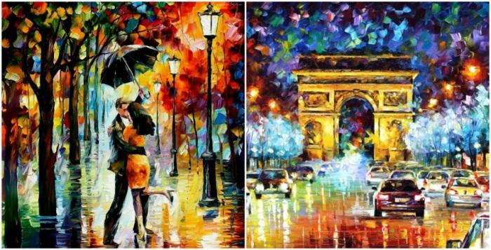 Цветовая палитра его картин выдает в художнике закоренелого оптимиста, всем сердцем влюбленного в окружающий мир.