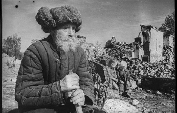 Документальные фотографии военкора Олега Кнорринга.