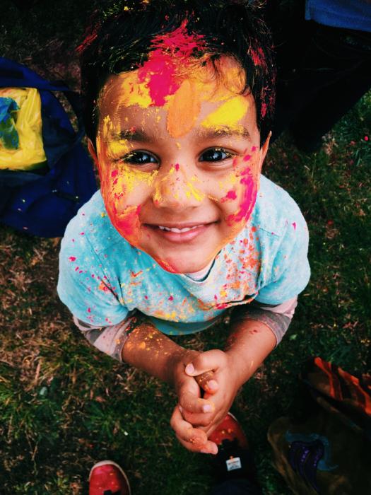 После веселой и увлекательной игры. Автор фотографии Ашиш Кумар (Ashish Kumar).