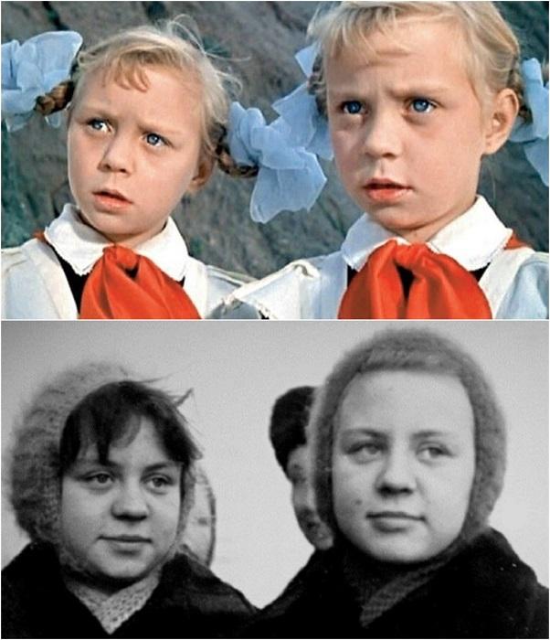 Сестры-близняшки, покорившие зрителей своей игрой в фильме-сказке «Королевство кривых зеркал», так и не стали актрисами.