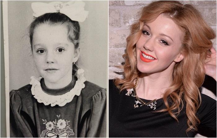 Будущая российская певица и телеведущая училась в школе при Посольстве России в Болгарии.