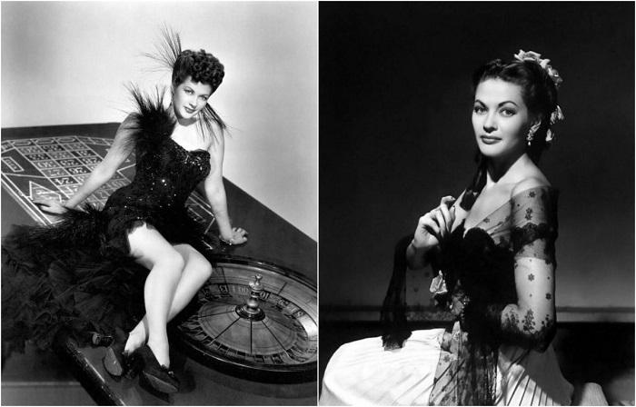 Ивонна де Карло - роковая красавица 1950-х.
