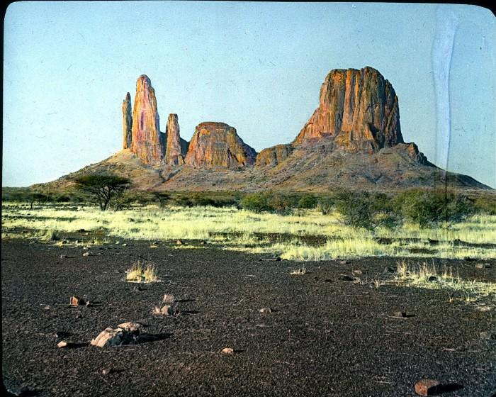 Самая известная скала Мали.