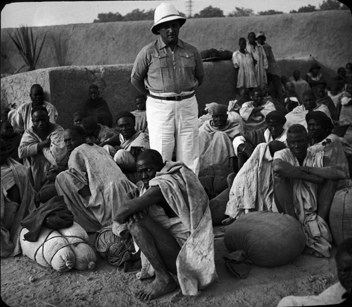 Исследователь Африки Жан Феллер.