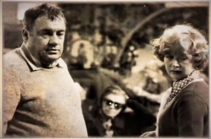 Народная артистка России Светлана Немоляева на съемках фильма.