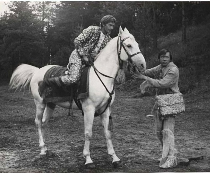 В съемках фильма принимали участие 11 лошадей.
