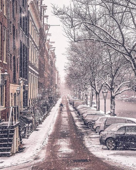 Завораживающая красота зимнего пейзажа.