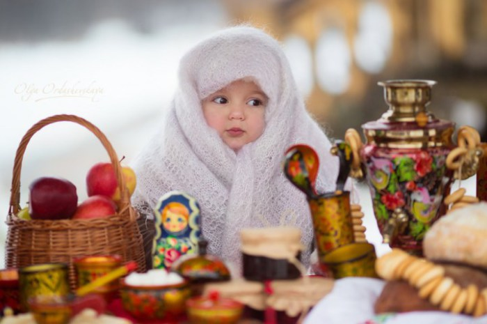 Бабушкина шаль - самое то зимой.