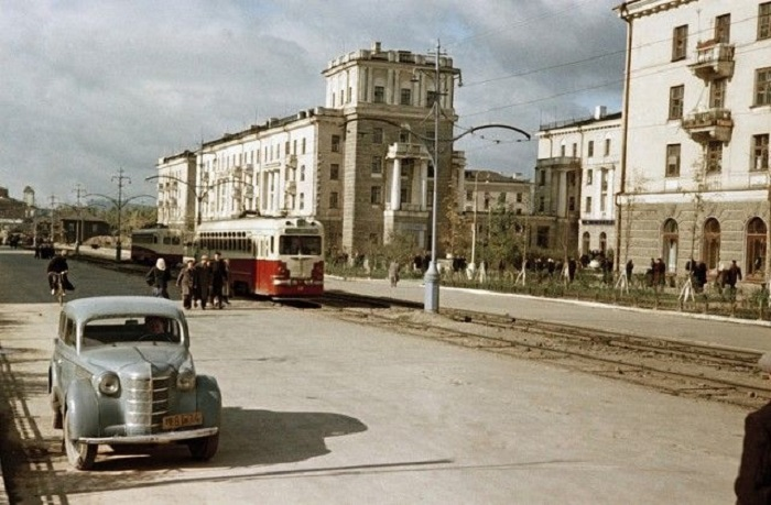 Нижний Тагил, 1954 год.