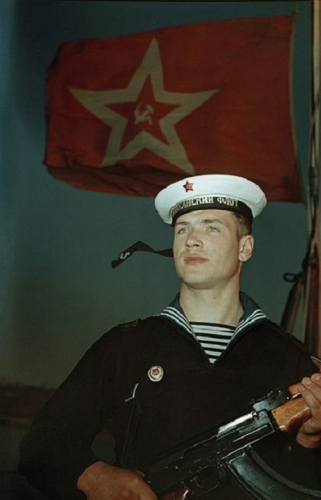 Матрос Тихоокеанского флота.