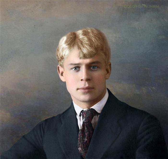 Фото известных личностей в цвете