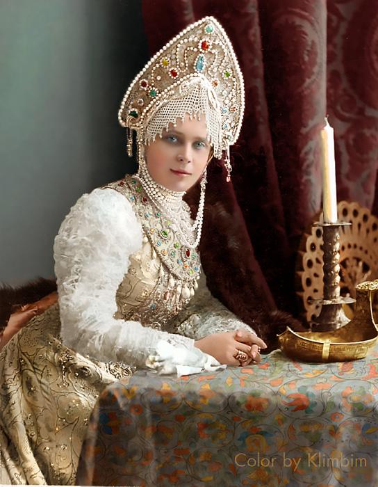 Богатейшая наследница древнего аристократического рода.