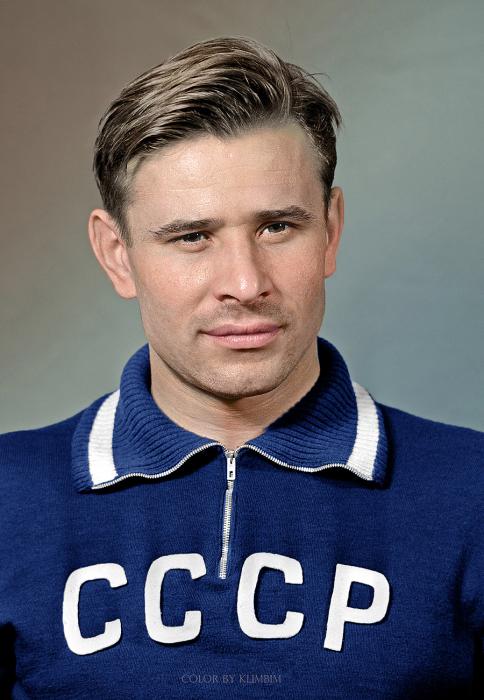 Легендарный советский футбольный вратарь.