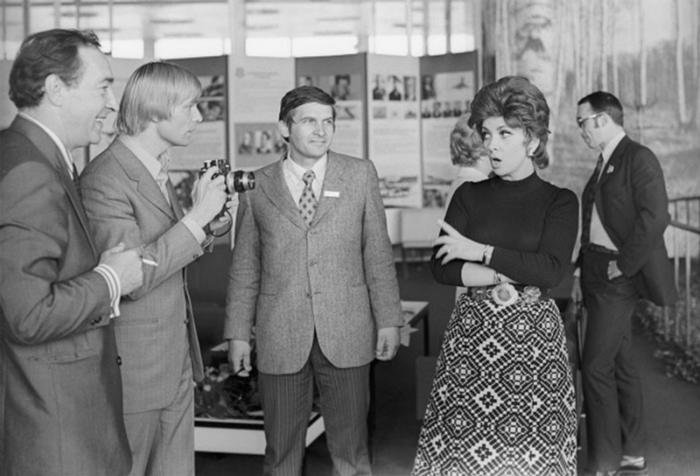 VIII Международный московский кинофестиваль, лето 1973 года.