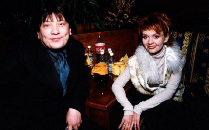 Скандальный российский композитор и продюсер с молодой женой.