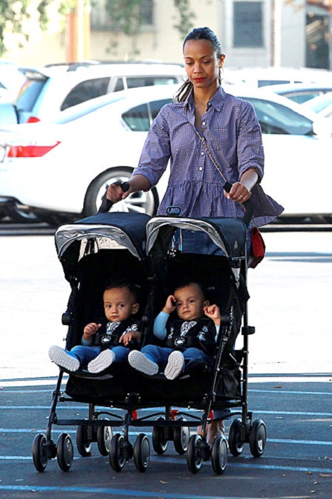 Певица признается, что ей приходится прикладывать много усилий, чтобы справляться с Эдди и Нельсоном. /Фото:who.com.au