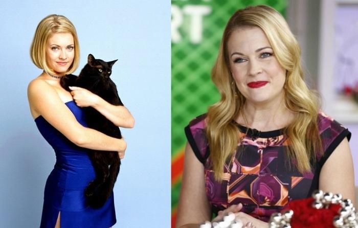 Исполнительница роли девушки по имени Сабрина в одноименном американском комедийном сериале «Сабрина — маленькая ведьма»/ «Sabrina, the Teenage Witch».
