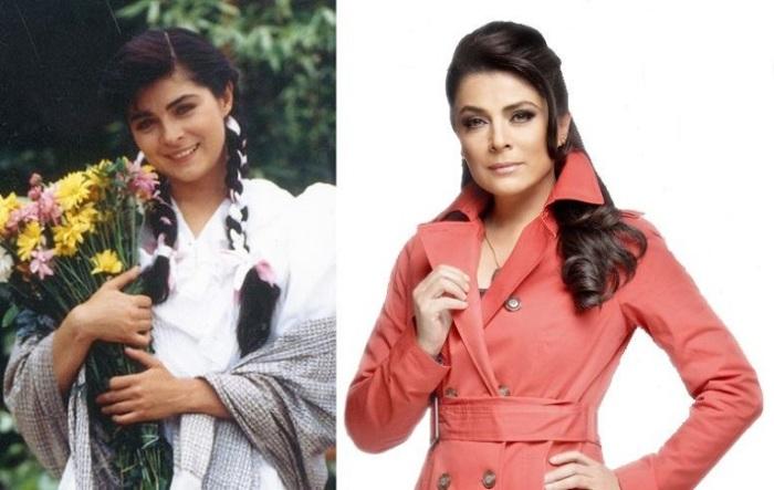 Исполнительница главной роли в мелодраматическом мексиканском телесериале «Просто Мария»/ «Simplemente Marіa».