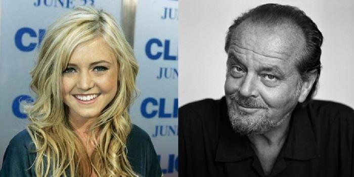 Младшая дочь Джека Николсона -  начала сниматься в кино с 11 лет.