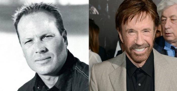 Сын Чака Норриса - стал автогонщиком, а также снялся в нескольких фильмах и сериалах.