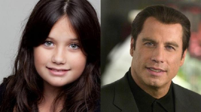 Дочь Джона Траволты, уже снимается в кино.