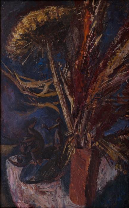 "Доляновский С.М. ""Натюрморт"", 1991. Холст, масло"