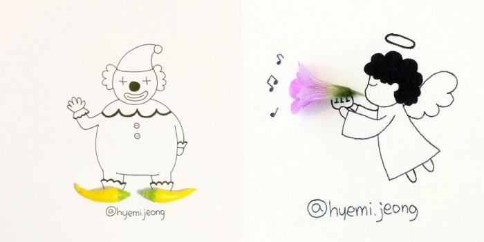 Милые зарисовки корейского иллюстратора.