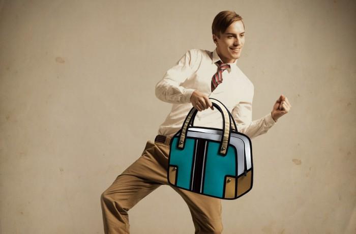 Мультяшные сумки.
