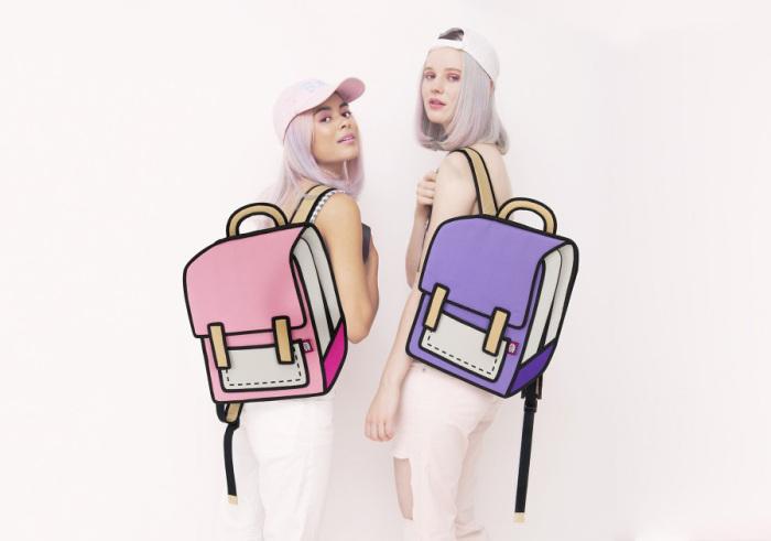 Сумки от дизайнеров Chay Su и Rika Li.