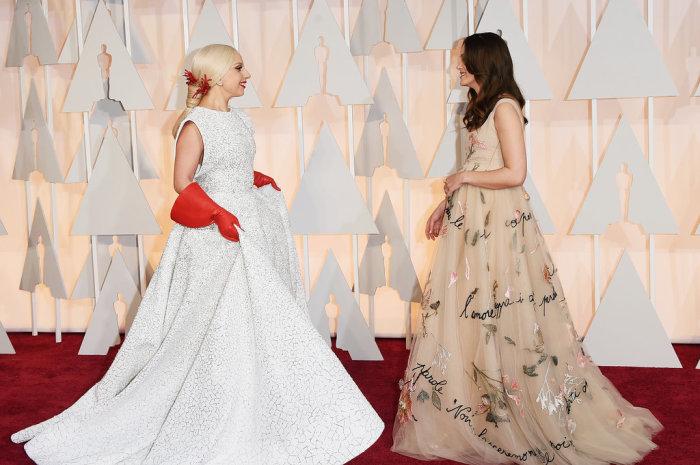 Lady Gaga & Keira Knightley