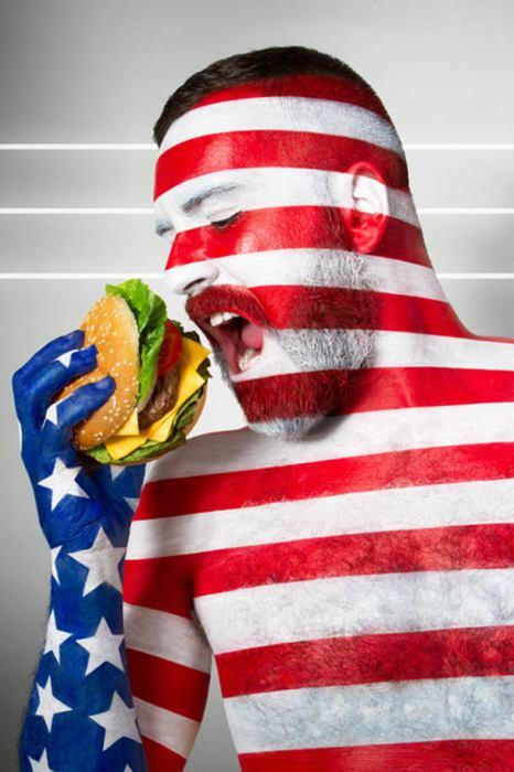 Америка и фастфуд.