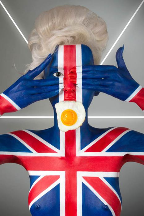 Англия и яичница.