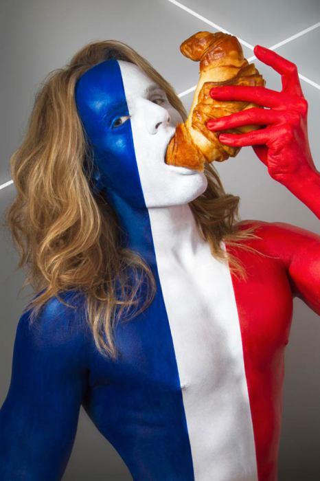 Франция и круассаны.