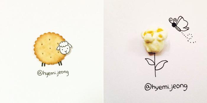 Причудливые иллюстрации от Hyemi Jeong.