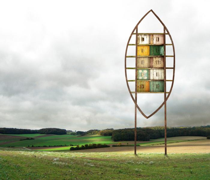 В своих работах Маттиас Юнг воплощает его мечты.