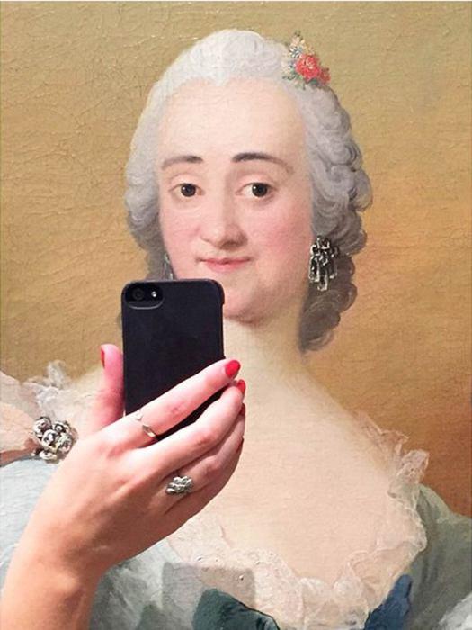 Современный подход к классической живописи.