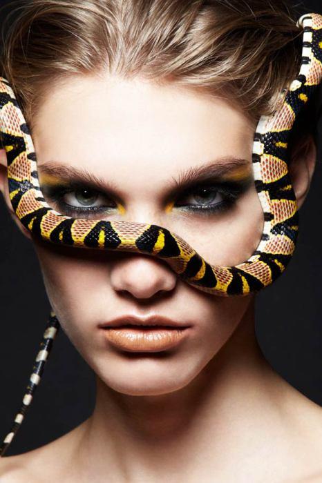 Фотопроект Женщины-змеи.