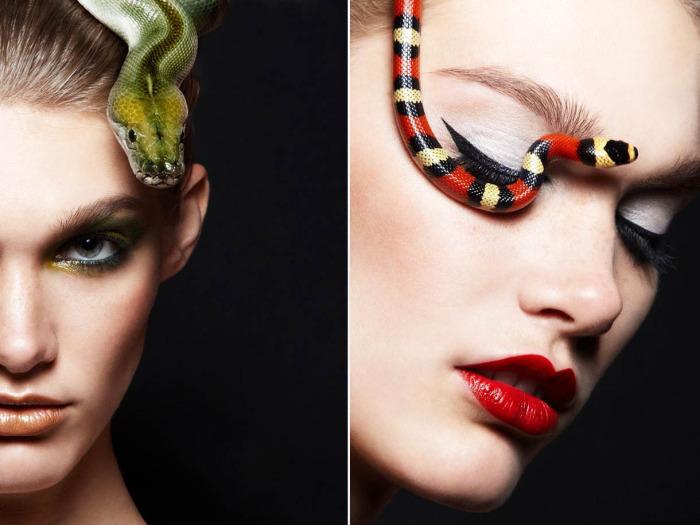 Змеи-аксессуары для настоящих искусительниц.