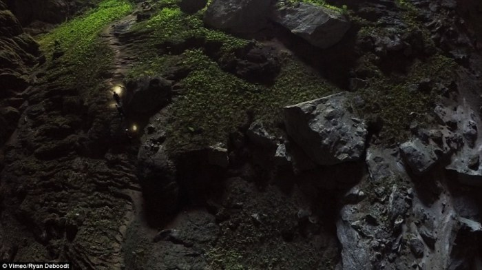 Пещера Hang Son Doong.